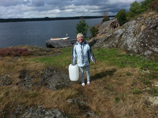 Anne Karlzén gillar vatten